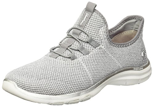 Skechers Femme Galaxies – On-Air Chaussure Décontractée Gris