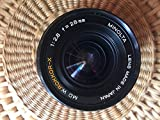 MINOLTA MD 28MM F2.8 LENS FOR MINOLTA MD/MC MOUNT CAMERAS