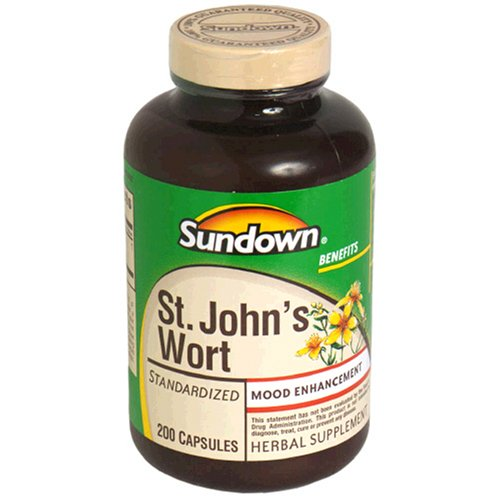Sundown, St John S Wort Standardized 300 Mg Capsules, 150 ct