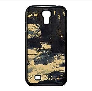 Fast Stream Watercolor style Cover Samsung Galaxy S4 I9500 Case (Rivers Watercolor style Cover Samsung Galaxy S4 I9500 Case)