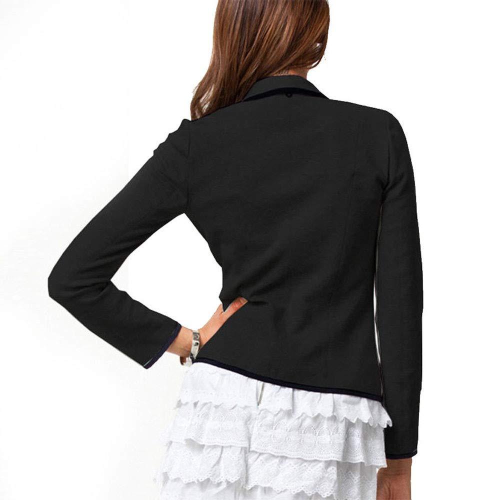 Fashion Women Tops Coat Blazer Suit Ladies Long Sleeve Slim Jacket Outwear Business Coat Size S-6XL