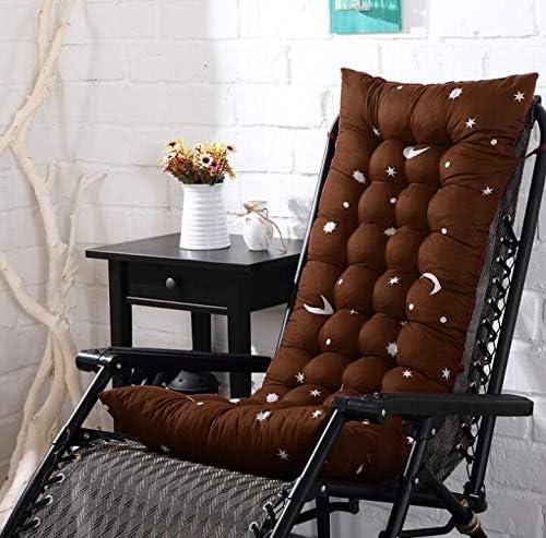 Marbeine - Colchón de cojín para Tumbona, cojín Mate para Silla de Relax, Tumbona de jardín, terraza 48 x 125 x 8 cm, Marron Dessin: Amazon.es: Jardín
