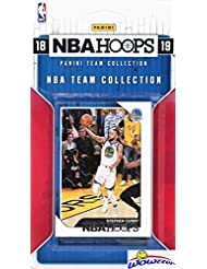 2018/2019 Panini Hoops NBA Basketball EXCLUSIVE Factory Sealed Limited Edition 10 Card SUPER STAR Collection Set with Lebron James, Stephen Curry, Kevin Durant, Greak Freak, Mitchell & More! WOWZZER!