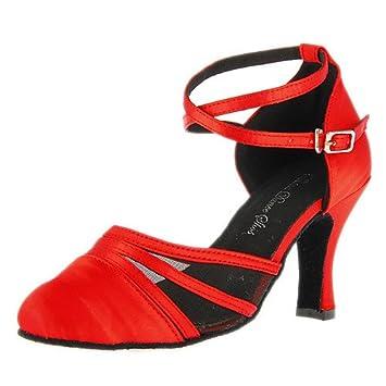 t De Pour Danse Q Moderne Satin Femmes Chaussures T Personnalisé odBxCe