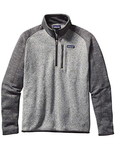 Patagonia 1/4-Zip Better Sweater - Men's Nickel/Forge Grey, M ()