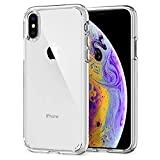 Spigen Ultra Hybrid with Air Cushion Technology and Hybrid Drop Protection Designed for Apple iPhone Xs Case (2018) / Designed for Apple iPhone X Case (2017) - Crystal Clear