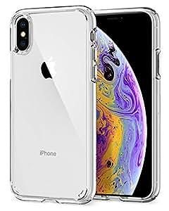 Spigen  057CS22127 Ultra Hybrid Funda iPhone XS/X - Transparente