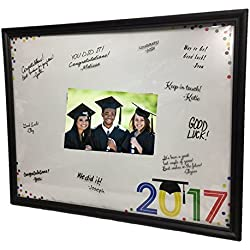 Class of 2017 Lightweight 11x14 inch Photo Frame with Signature Mat (Black)