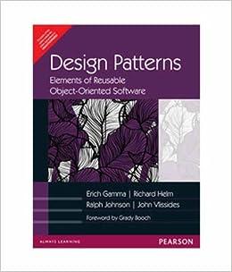 Design Patterns Elements Of Reusable Object Oriented Software Bilingual Edition Erich Gamma Ralph Johnson Richard Helm Gamma John M Vlissides 9787111211266 Amazon Com Books