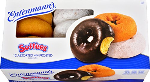 Entenmann's, Softee Assorted Donuts, 21 oz