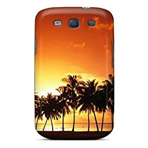 New Landscape Tpu Skin Case Compatible With Galaxy S3