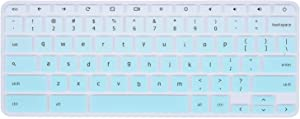 "Lenovo Chromebook Keyboard Cover Compatible with 11.6"" Lenovo Chromebook C330 /Lenovo Flex 11 Chromebook 11.6"" /Lenovo Chromebook N20 N21 N22 N23 / Chromebook N42 N42-20 14""(Gradual Hot Blue)"