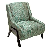 Denise Austin Home Verona Blue Fabric Occasional Chair Review