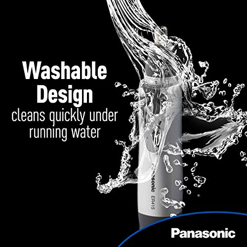 Panasonic Ear and Nose Trimmer, Wet/Dry Convenient, ER415SC by Panasonic (Image #3)
