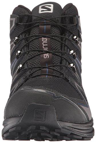 M X Black Hiking Mens Blue Mid Boot CS WP Salomon Black Depth Chase pYqwfqO