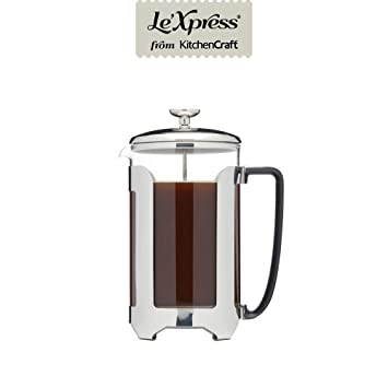 Amazon.com: KitchenCraft LeXpress Deluxe - Cafetera de ...