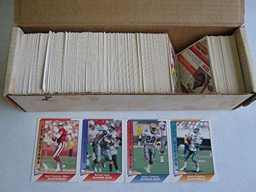 - 1991 Pacific Football Series 1 Set #1-550
