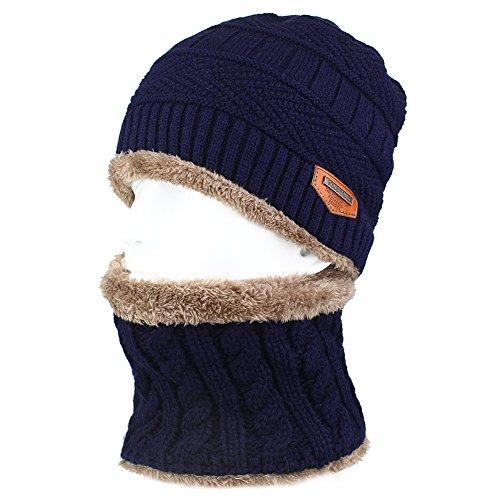 Winter Knitting Skull Slouchy Beanie