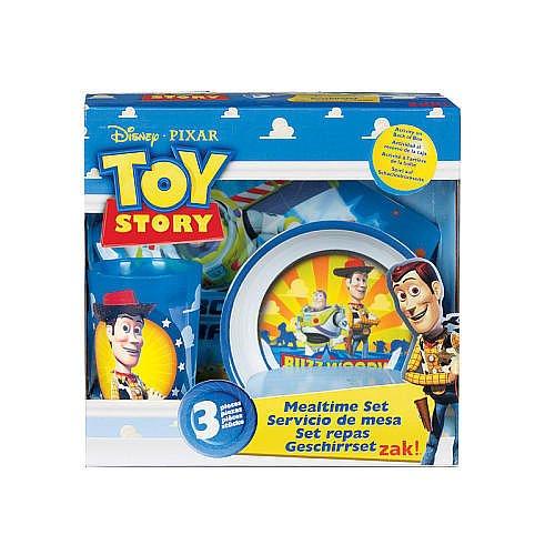 Toy Story 3 Piece Mealtime Set by Zak Designs   B0038TL2KM