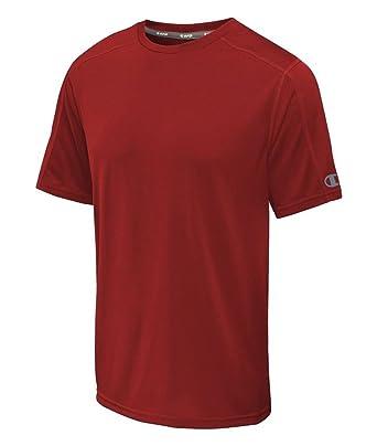 8c65b2cf4 CHAMPION Big and Tall Vapor Crew Shirt (Red 4X) at Amazon Men's ...