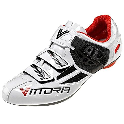 Vittoria Speed-U, White/Red, 38 EU/6 D US