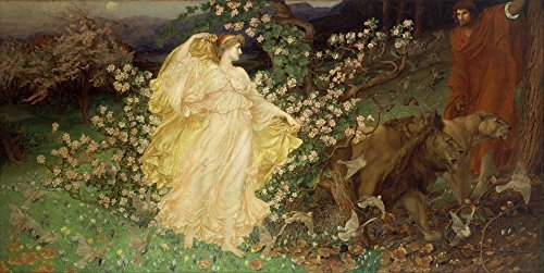 - The Museum Outlet - William Blake Richmond - Venus and Anchises, Stretched Canvas Gallery Wrapped. 11.7x16.5