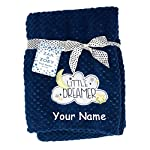 Zak-Zoey-Personalized-Little-Dreamer-Moon-and-Stars-Blue-Plush-Blanket-for-Baby-Boy-or-Girl-with-Custom-Name-40-Inches