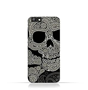 Oppo A57 TPU Silicone Case With Skull & Piesley Design