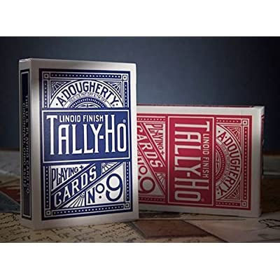 Tally Ho Circle Back Two Pack RED/Blue: Toys & Games