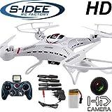 s-idee 01251 Quadrocopter S183C HD KAMERA 4.5 Kanal 2.4 Ghz Drohne mit Gyroscope...