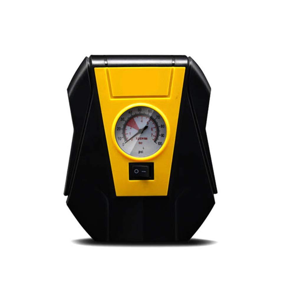 WERSDF Bomba de compresor de Aire, 12V, Mini inflador de neumáticos, con manómetro, para automóvil/sedán/Motor/Bicicleta/camión: Amazon.es: Deportes y aire ...