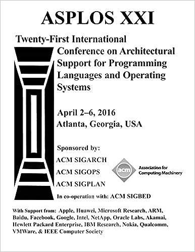 ASPLOS XXI 21st ACM International Conference on