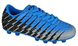 Vizari Baby Bolt FG Blue/Black/Silver Size 8.5 Soccer Shoe, Regular US Toddler