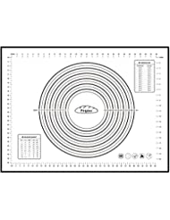 Pastry Mat XX-Large 32''x24'' – PEGZOS Non-Slip Silicone Fondant Sheet, Sticks to Countertop, Mother's Day Gifts, Perfect for Rolling Dough