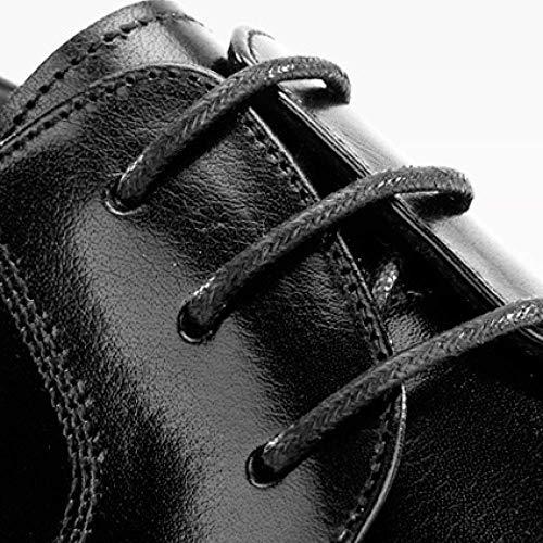 Hombres Broch Xycszq De Brown Cuero Comodidad Negocios Zapatos Tallado Transpirable Encajes Goma Tx4RUHqnd