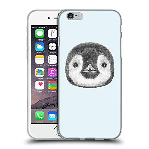 "GoGoMobile Coque de Protection TPU Silicone Case pour // Q05310619 Visage pingouin Bulles // Apple iPhone 6 PLUS 5.5"""