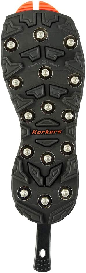 Korkers Triple Threat Carbide Spike Sole Boots