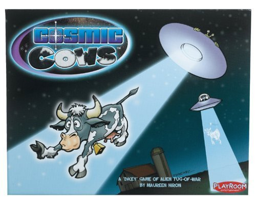 Cosmic Cows Board Game (verdeical) by Playroom Entertainment