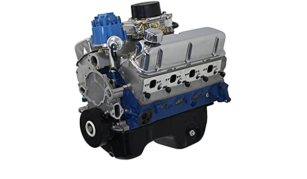 Amazon blueprint engines bp3027ctc small block ford 302 ci amazon blueprint engines bp3027ctc small block ford 302 ci dress engine 370 hp 350 tq automotive malvernweather Choice Image