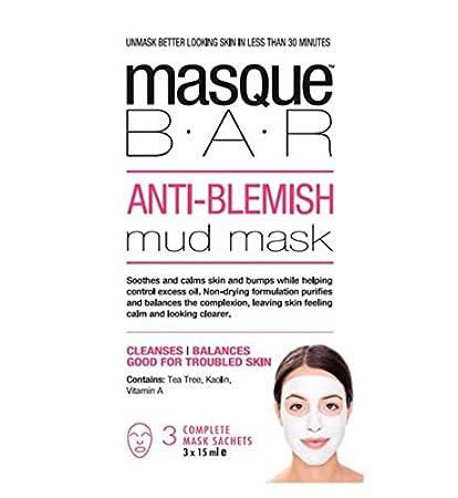 Look Beauty Masque Bar Anti-Blemish Mud Mask 3 masks Palmers - Rejuvenating Facial Serum