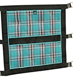 Kensington Door Guard for Horses — Designed to Keep Horse Securely in Stall in Style — Adjustable Straps and Hardware Included