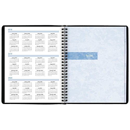 AT-A-GLANCE Daily Appointment Book / Planner, January 2018 - December 2018, 7