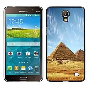 EJOY---Cubierta de la caja de protección para la piel dura ** Samsung Galaxy Mega 2 ** --Arquitectura antigua pirámides de Giza