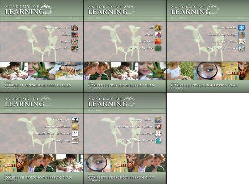 Complete Preschool Lesson Plans (Volumes 1-5) -