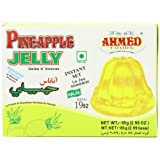 AHMED Halal Jello Vegetarian Crystal Jelly, Pineapple, 85 Gram (Pack of 12) by Ahmed