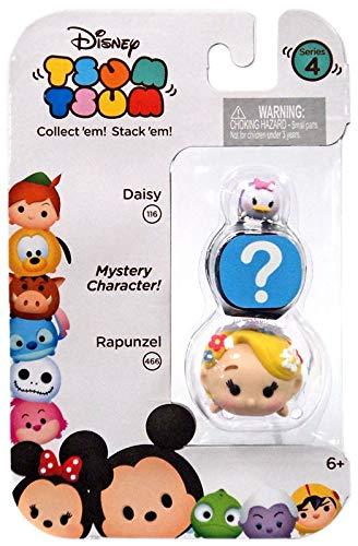 Disney Tsum Tsum Series 4 Daisy /& Rapunzel 1 Minifigure 3-Pack Jakks