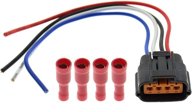 MOTOALL Fuel Injector Connector Plug for Xterra Maxima Murano Infiniti FX35 M35 G35 6-pc