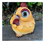 Outdoor Garden Decor Solar Animal Figurine Statue LED Landscape Patio Light (Chicken/Rooster) For Sale