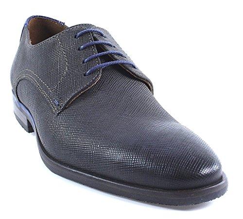 LLoyd - Leif | Schnürschuh - grau blau | geprägt, Farbe:grau;Größe:44.5