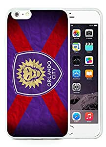 Fashionable And Antiskid Designed iPhone 6 plus Case MLS orlando city sc iPhone 6 Plus 5.5 inch TPU Case Cover 09 White